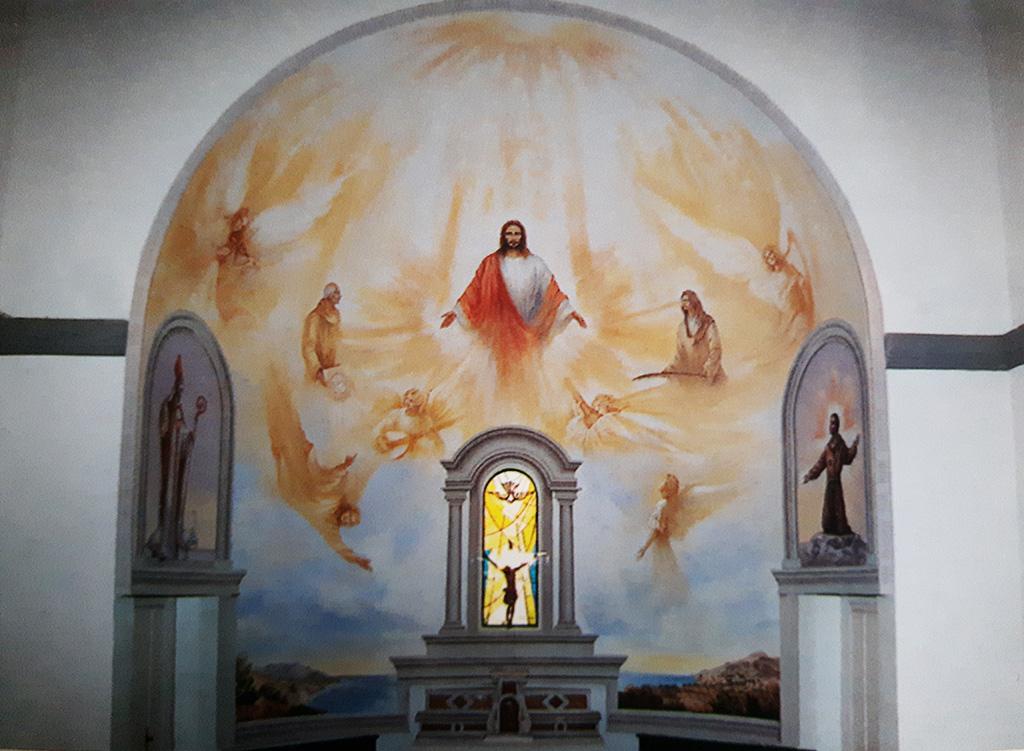 chiesa di Pomonte – isola d'Elba –