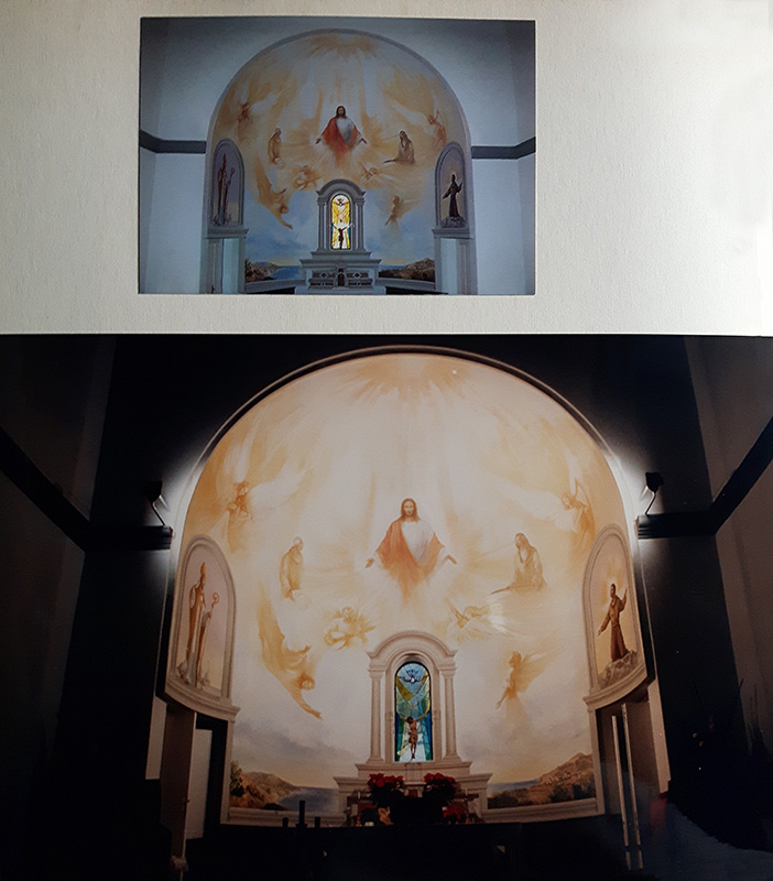 chiesa di Pomonte- isola d'Elba